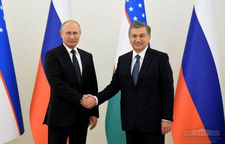 Shavkat Mirziyoyev Vladimir Putin bilan xalqaro siyosatga doir dolzarb masalalarni muhokama qildi