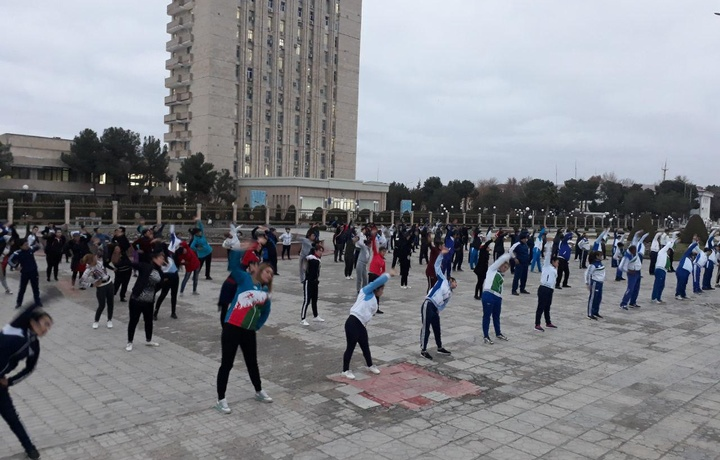 Ўзбекистонда «Хотин-қизлар спорт ҳафталиги»да 900 000 нафарга яқин киши қатнашди