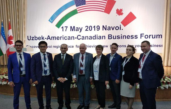 Навоийда ўзбек-Америка-Канада бизнес форуми бўлиб ўтди