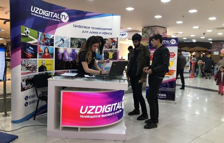 «Samarqand darvoza»da «UZDIGITAL TV»ning ko'chma sotuv ofisi tashkil etildi