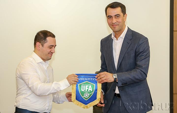 Futbol rivojida bir qadam: «Ucell» O'FA bilan hamkorlik memorandumini imzolandi (foto)