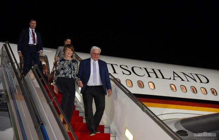 Германия Федерал президенти Ўзбекистонга келди