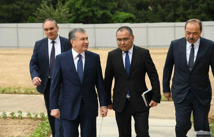 Prezident Talabalar shaharchasiga tashrif buyurdi (foto)