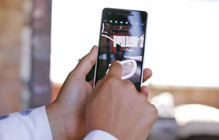 «Google» уч ўлчамли маконда тасвирни чиза оладиган янги мобиль дастур яратди
