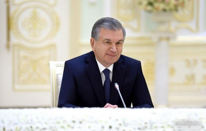 Шавкат Мирзиёев Халқаро валюта жамғармаси бошқарувчи директорини қабул қилди