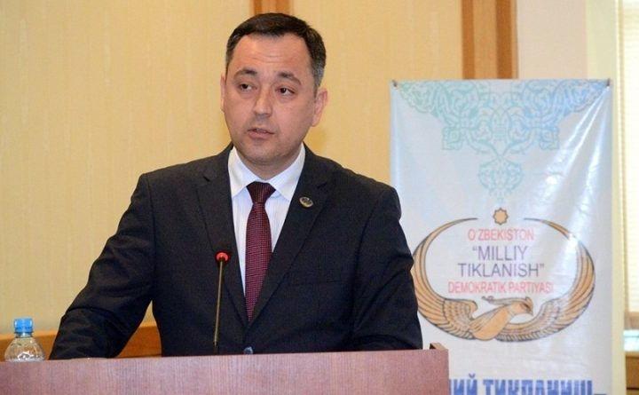 Сарвар Отамуродов «Миллий тикланиш» партиясидан кетди