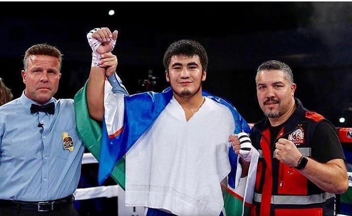 Санжар Турсунов профессионал боксдаги дебют жангида мексикалик рақибини нокаут қилди