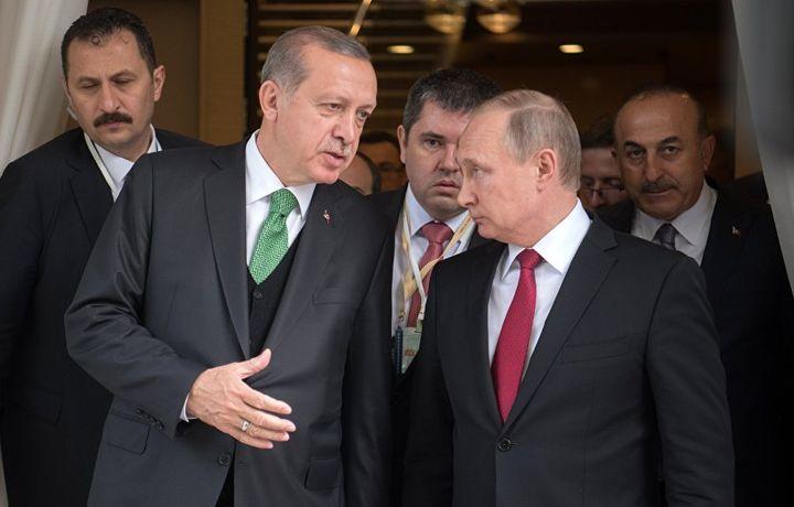Путин сказал, когда сходит с Эрдоганом в ресторан