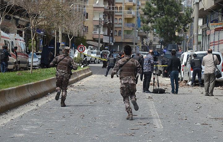 На турецко-сирийской границе прогремел взрыв