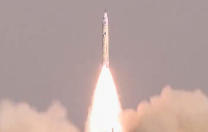 В Китае запустили первую частную ракету (видео)