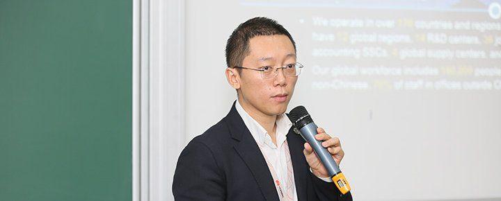 Талабаларга «Huawei»да ишлаш имкониятлари ҳақида гапириб берилди