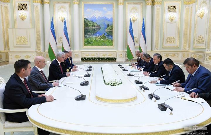 Шавкат Мирзиёев АҚШ делегациясини қабул қилди