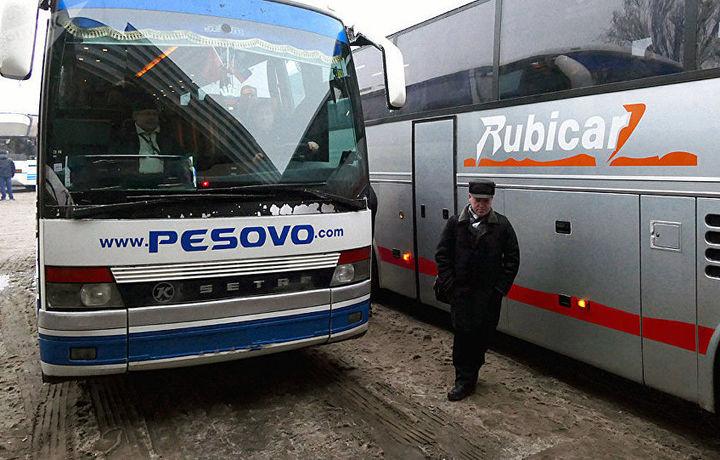 Қозоғистон орқали ўтиладиган Бишкек-Тошкент автобус қатнови тўхтатилди