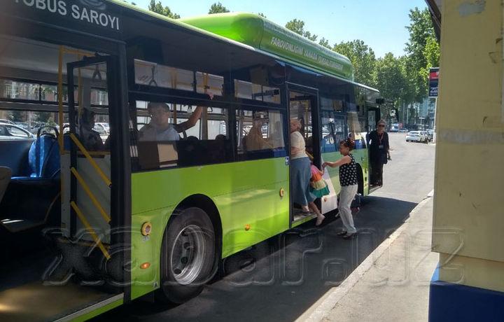 Тошкентда бугундан бошлаб автобуслар учун электрон карталар сотилиши бошланди