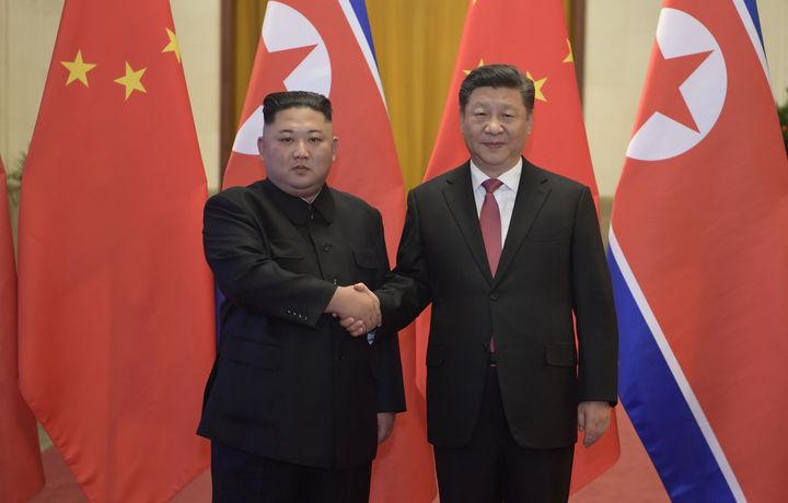 Ким Чен Ын пригласил Си Цзиньпина в Пхеньян