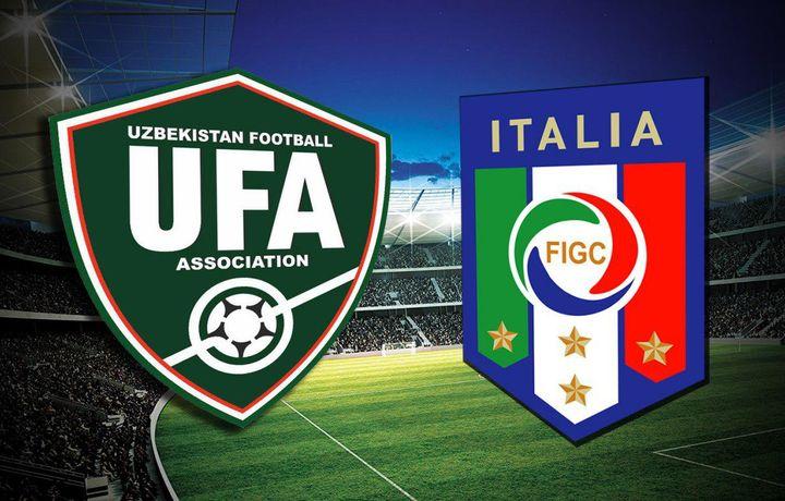 ЎФА Италия футбол ассоциацияси билан келишувга эришди