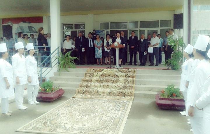 В Ташкентской области состоялось открытиеинновационного офтальмологического кабинета «Ёркин Нигох»