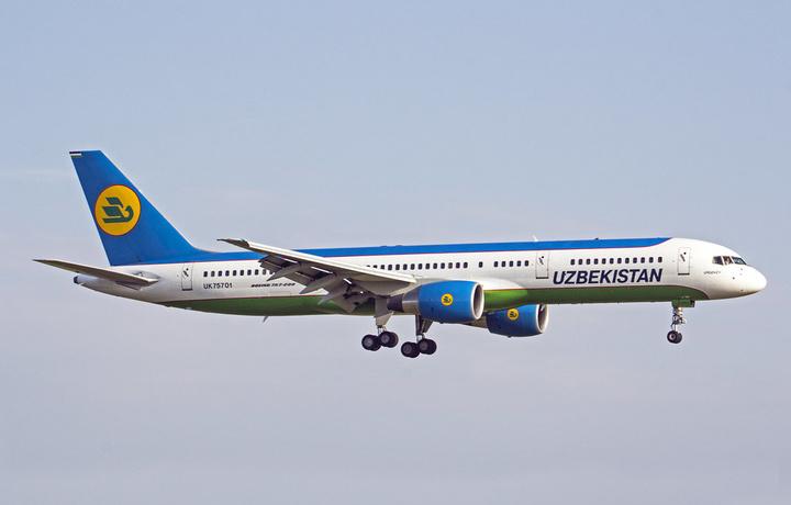 Sankt-Peterburgdan uchgan Boeing 757 samolyoti Buxoro aeroportiga qo'na olmadi