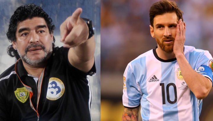 Марадона: «Месси Аргентина терма жамоаси лидери эмас»