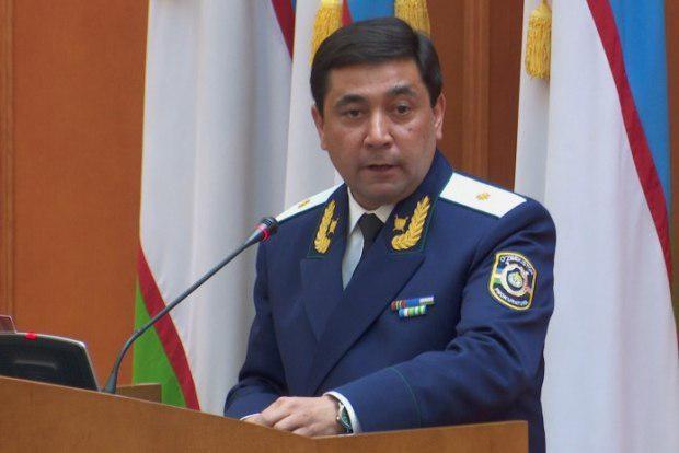 Отабек Муродов Бош прокурор лавозимидан озод этилди