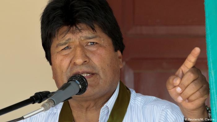 Боливия давлат тўнтариши арафасида — Эво Моралес