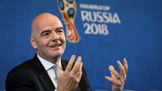 ФИФА президенти Равшан Эрматовни мақтади