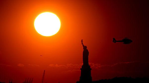 Америка жазирамаси. 147 миллион кишига фавқулодда ҳарорат хавф солмоқда