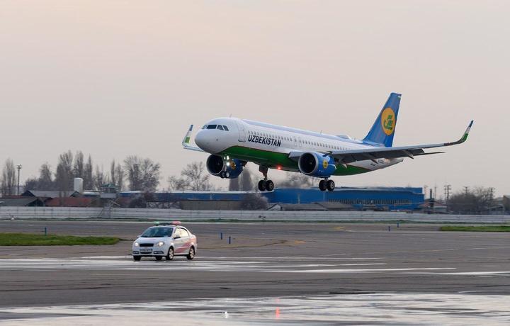 Zilzila tufayli ikki samolyot Toshkent aeroportiga qo'na olmay turdi