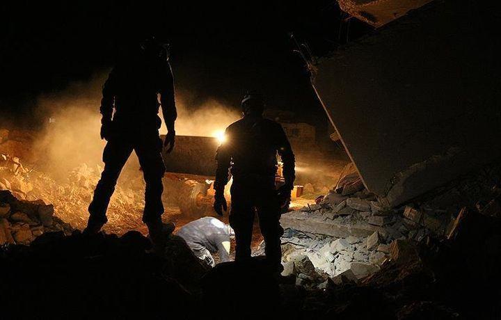 При авиаударе в сирийском Идлибе погибли 20 человек