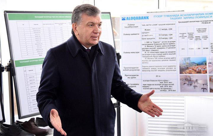 Шавкат Мирзиёев Юнусобод туманига боради