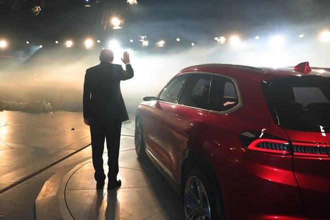Эрдоган сел за руль первого турецкого электрокара