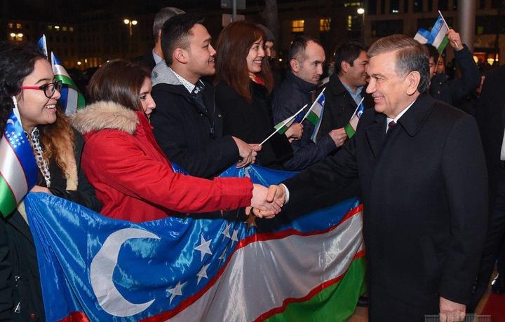 Шавкат Мирзиёев встретился с узбекистанцами, проживающими в Германии