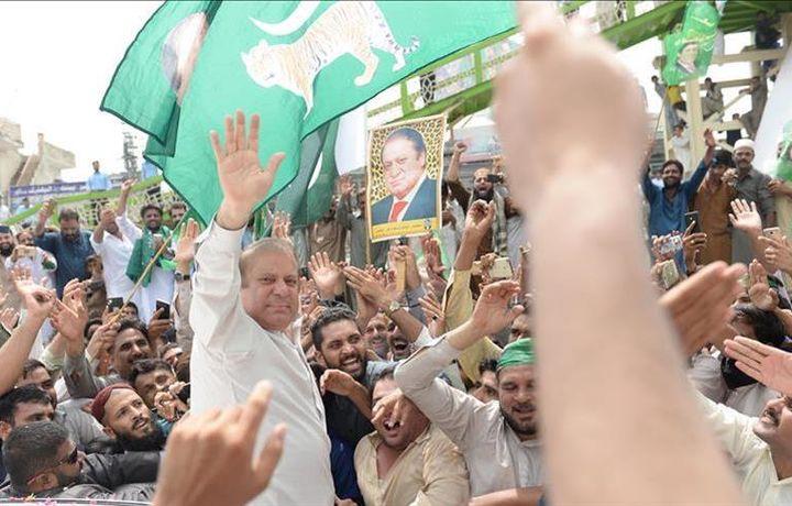 Экс-премьер Пакистана вышел на свободу